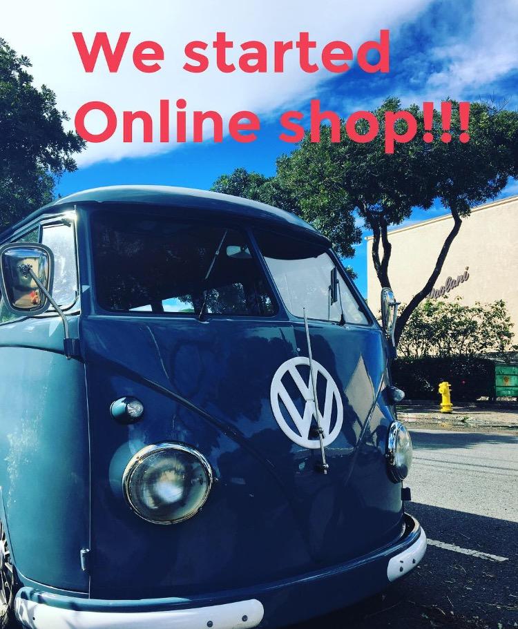 Online shop スタート!