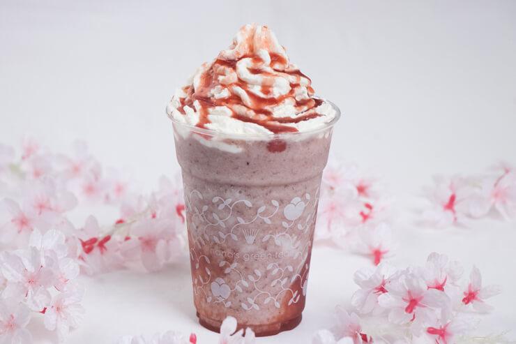 あずき苺クリームフローズン:$6