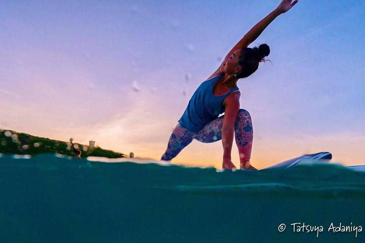 ハワイの風や波音を感じて身体も心もオープンに