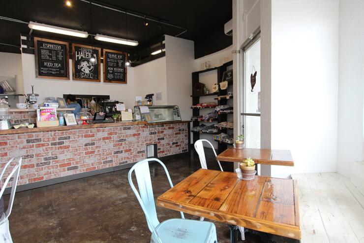 ハッピーハレイワ・カフェの店内