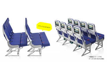 ANAの新しい機体デザイン&機内仕様にワクワク