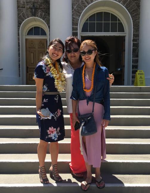 カワイアハオ教会でのレッスン!