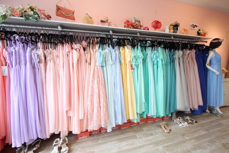 ブライズメイド衣装レンタル店が移転オープン