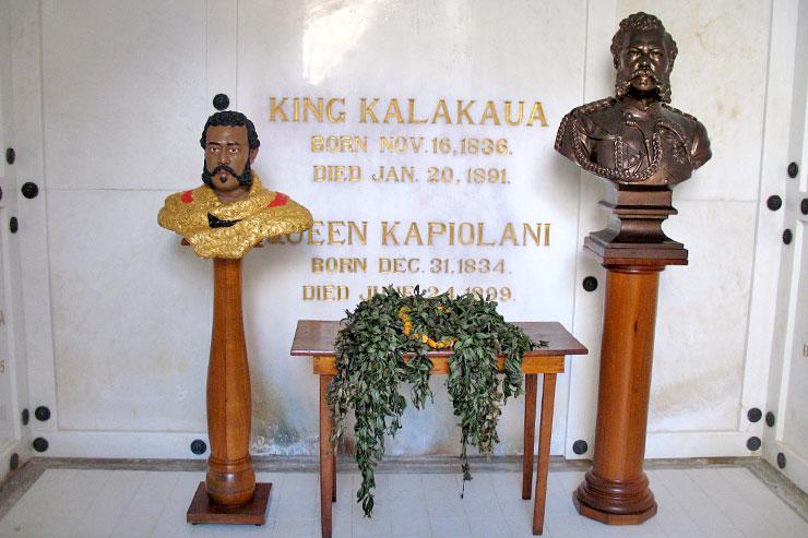 ハワイ王族53人が眠る王家の霊廟