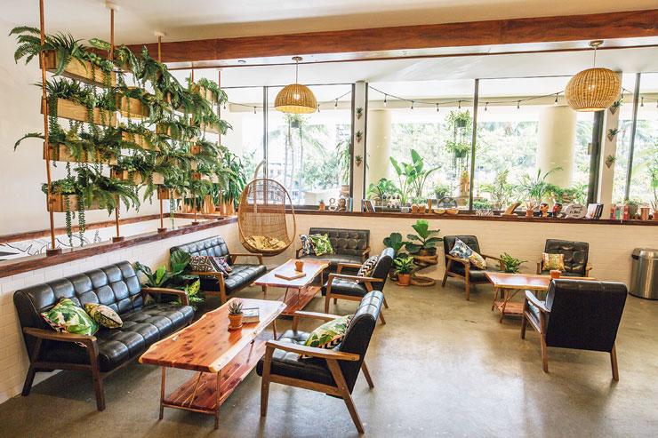 ハワイアン・アロマカフェ「オハナ・イースト・ワイキキ」ホテル店
