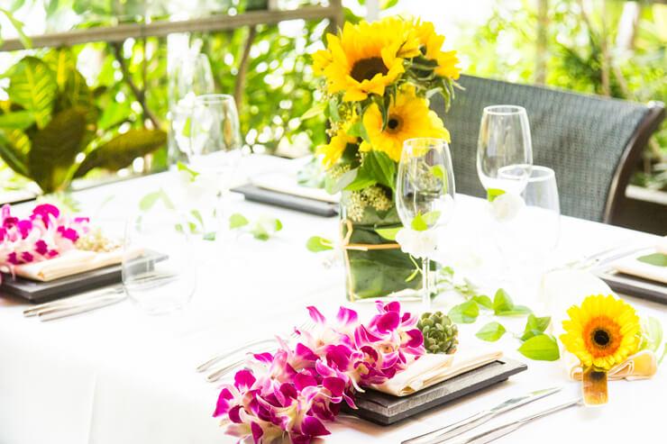 プレ花嫁さん必見!生花で彩る華やかパーティー