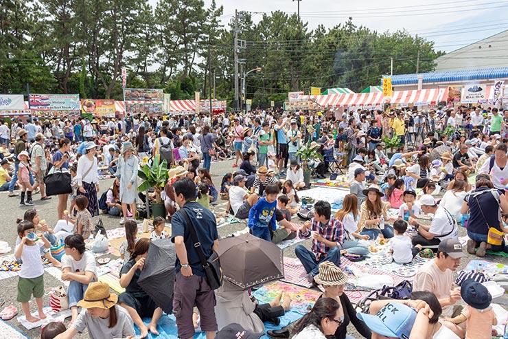 ●約4万人のハワイファンが来場!