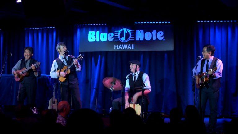 アラスター先生が所属するBeat-LeleのBlue Note HawaiiでのLIVE