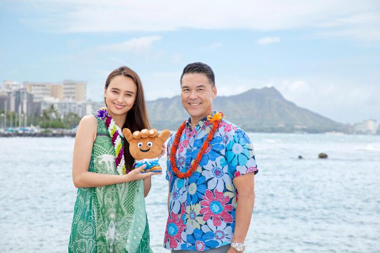石田ニコルさんがハワイ州観光局親善大使に就任