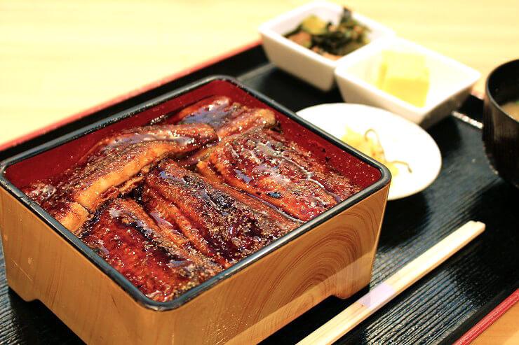 デラックス鰻丼$22.95