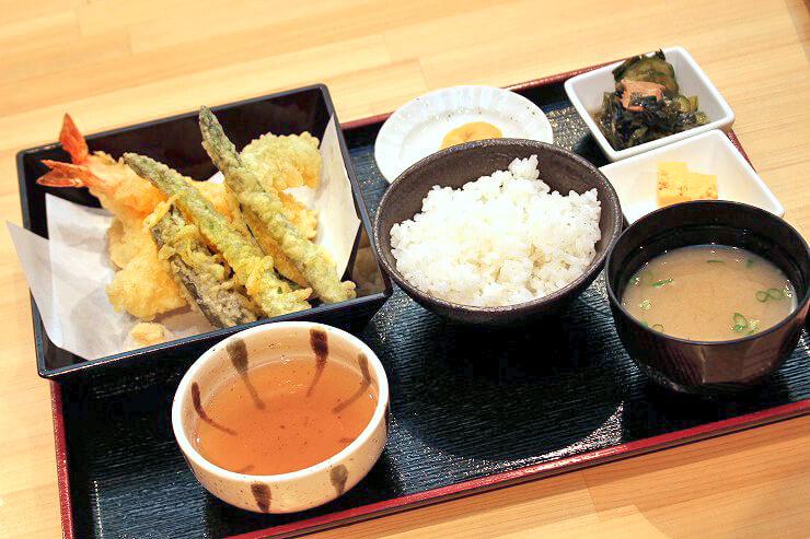 えび天ぷら定食$13.95