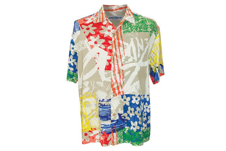 メンズ用アロハシャツ$127
