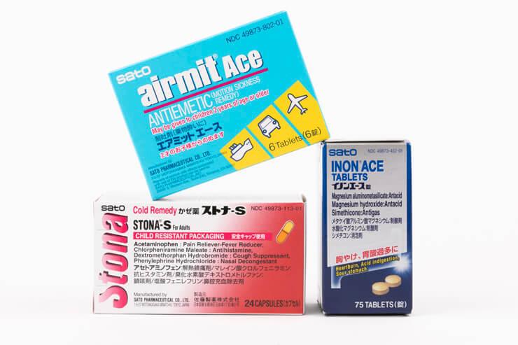 風邪薬や痛み止めなど日本の医薬品も充実しているので、もしものときも安心