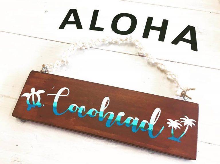ハワイで手作り体験!オリジナルサインボード