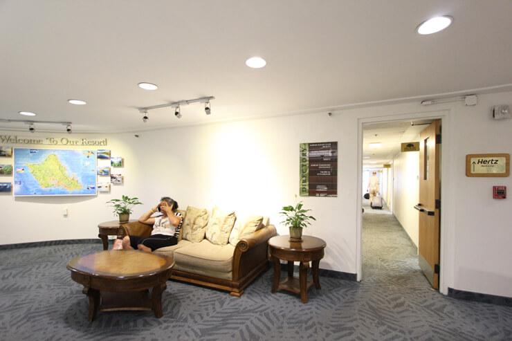 インペリアル・ハワイ・リゾート・アット・ワイキキ2階
