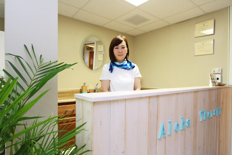 セラピストはすべて日本人。予約ももちろん、日本語OK!