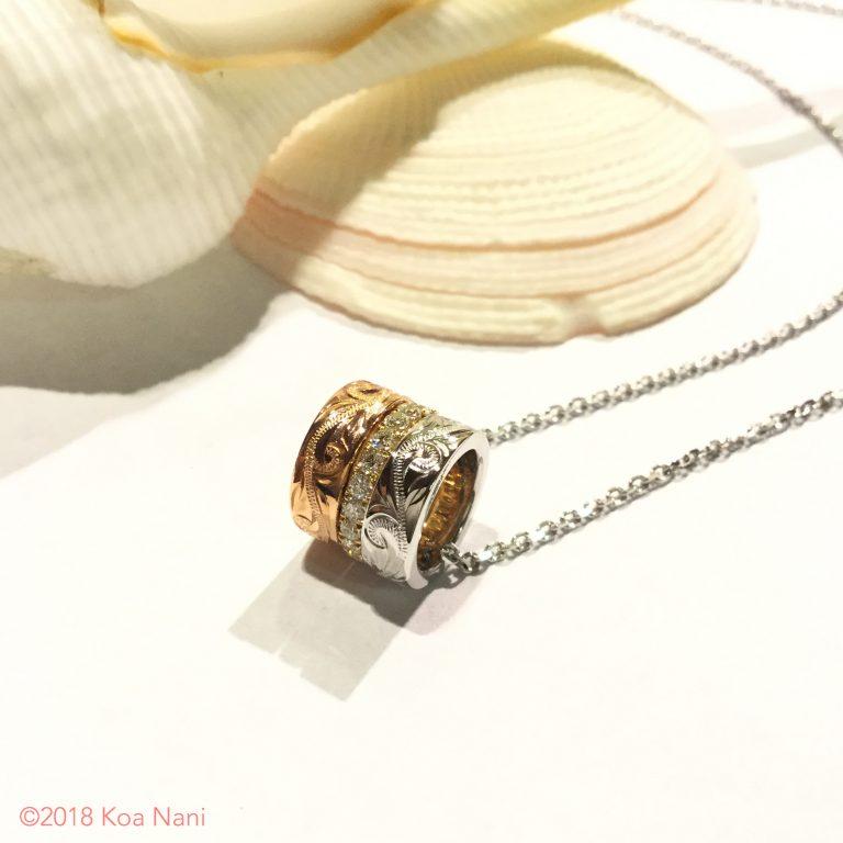 ダイアモンドとゴールドで華やぐ夏の装い