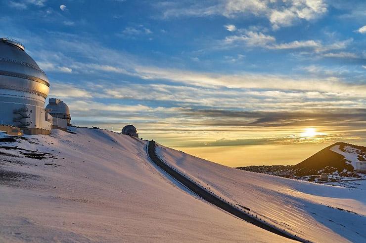 常夏ハワイの極寒体験 マウナ・ケア山の気温を肌で感じよう