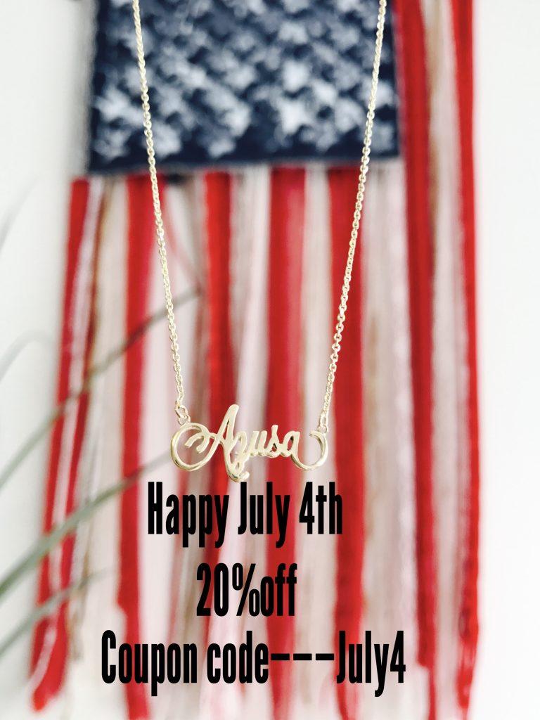 アメリカ独立記念日で20%オフ