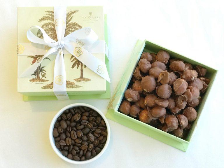 「コナコーヒー」フレーバーのチョコレートマカダミアナッツを期間限定販売