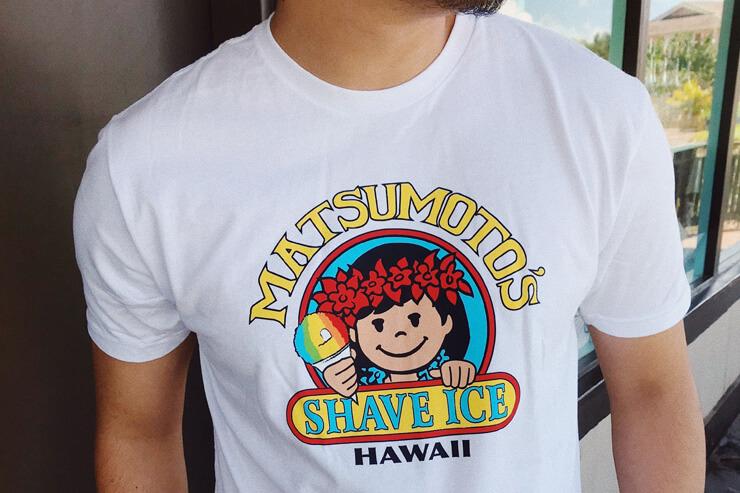 マツモトシェイブアイスに数量限定の新Tシャツ登場