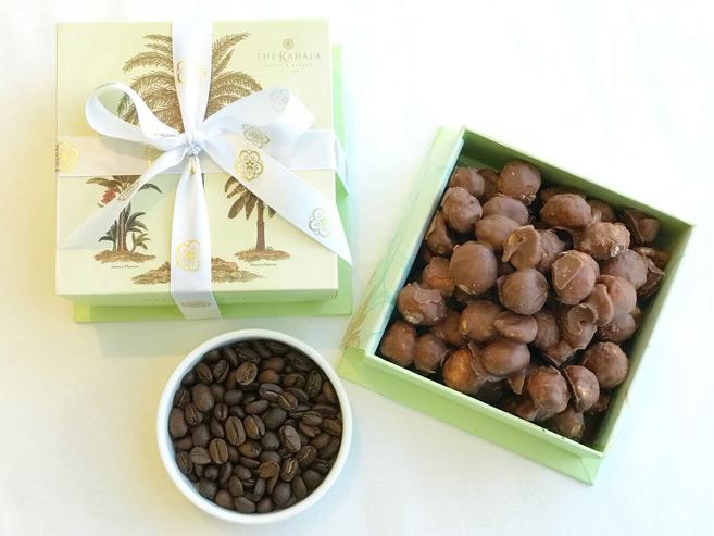 期間限定!コナコーヒー味のマカダミアナッツチョコ