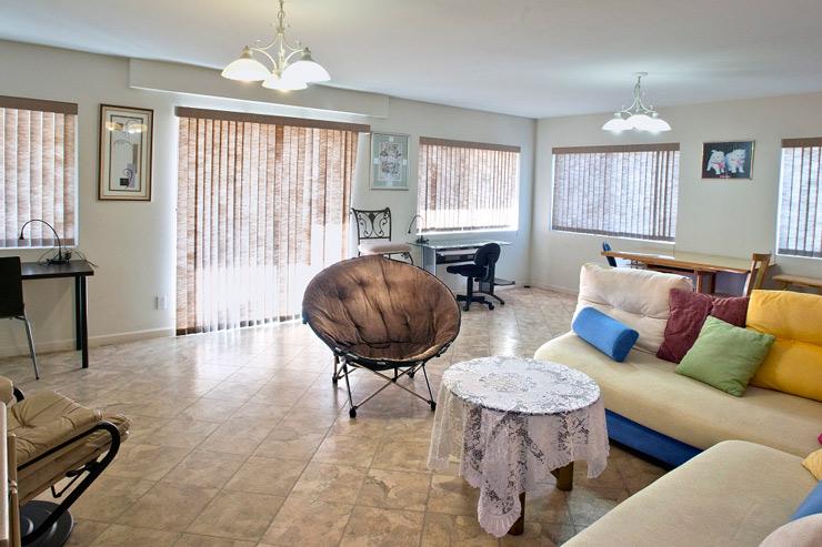 快適なアパートに暮らしながら夢のハワイ留学