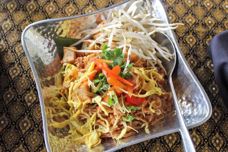 パッタイ豆腐