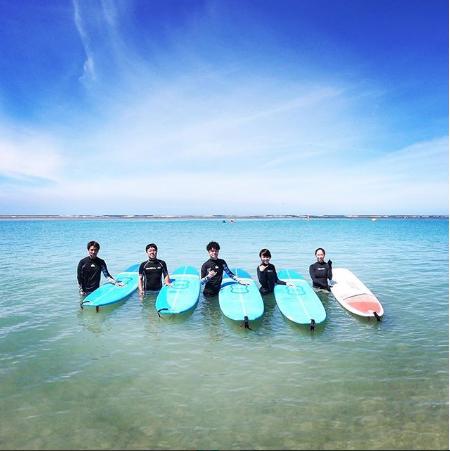 ハワイでサーフィンデビュー!