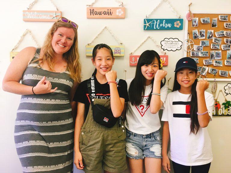 英語を学びながら楽しく手作り体験!