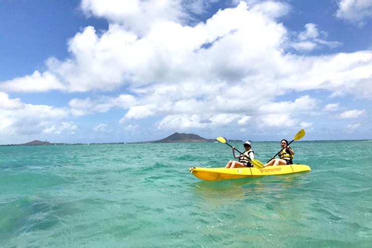 カイルアの透明な海を冒険!おすすめカヤックツアー