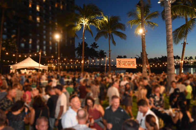 ビール、フード、音楽!ハワイ最大ビールの祭典