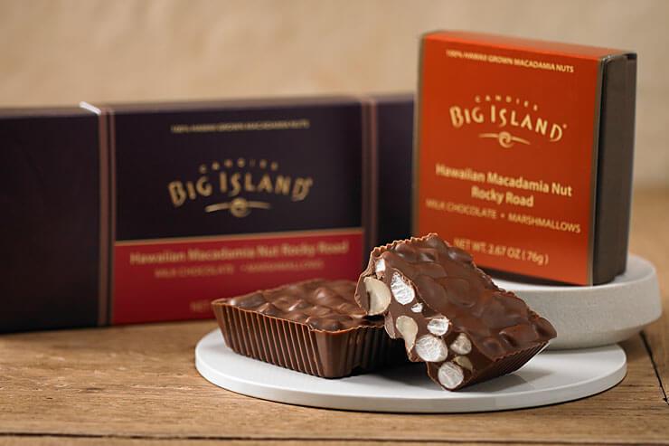 チョコレート・マカダミアナッツ・ロッキーロード $6.50