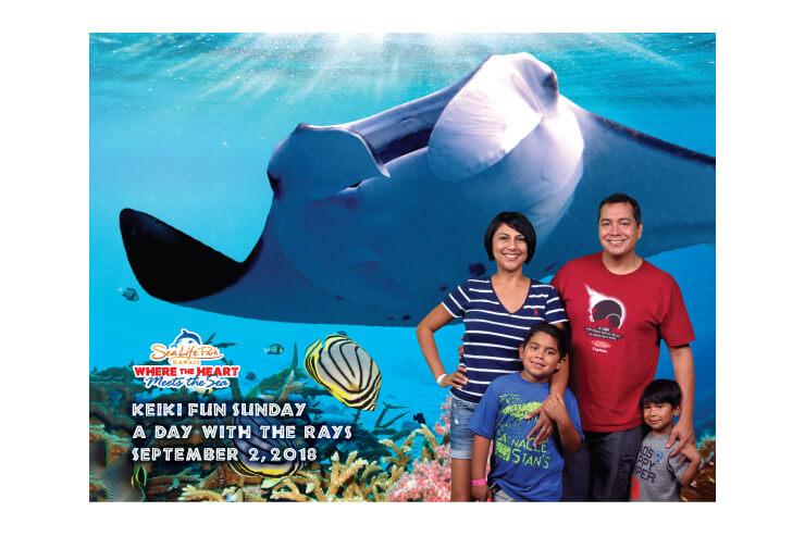 家族で行こう!海のテーマパークのキッズフェア
