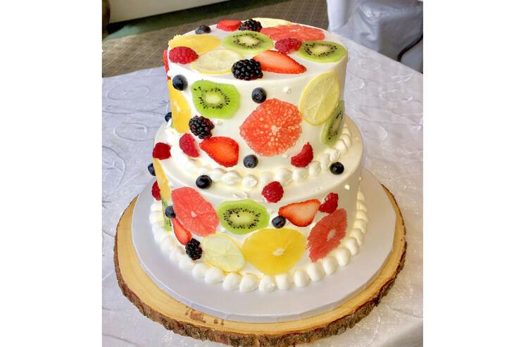 ケーキの種類も豊富
