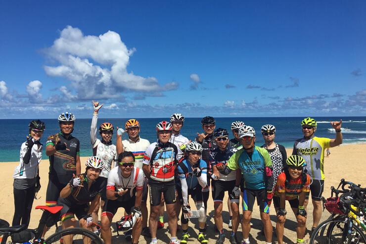 自転車でオアフ島を一周!ツールド・オアフ2018開催
