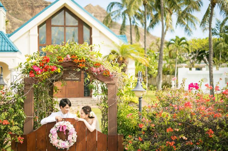 自然豊かな新チャペルで憧れのハワイ挙式を実現