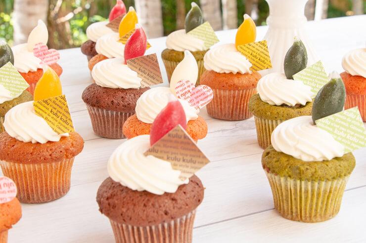 9月の限定スイーツはユニークなカップケーキ