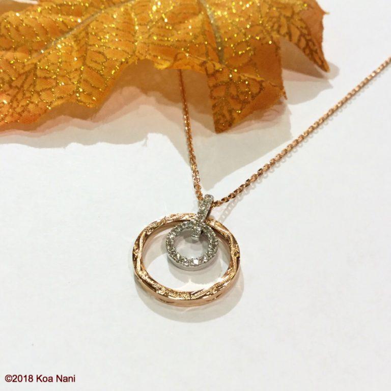 華奢なデザインが素敵!ダイアモンドサークルペンダント