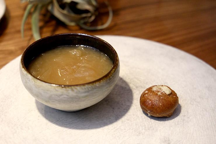 パリハワイのMaui Onion Soup