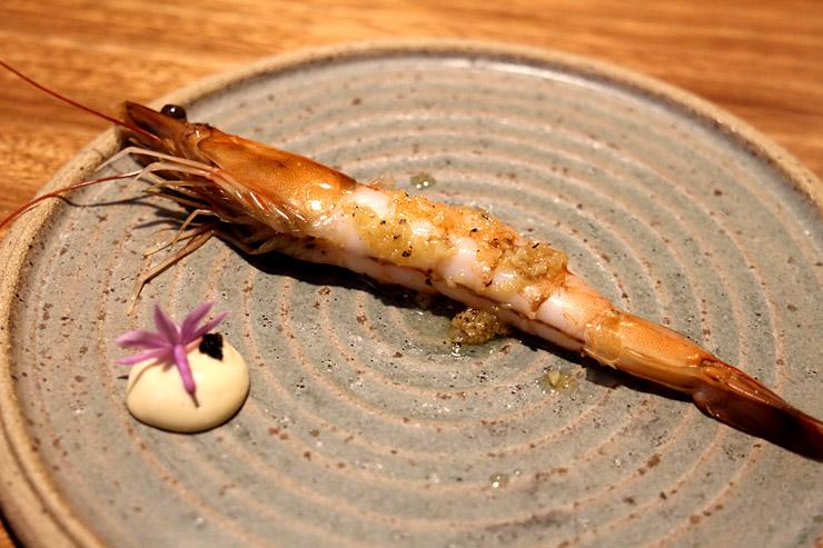 パリハワイのGarlic Shrimp