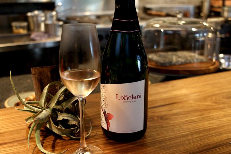 マウイ島の「ロケラニ・ワイン」のロゼ