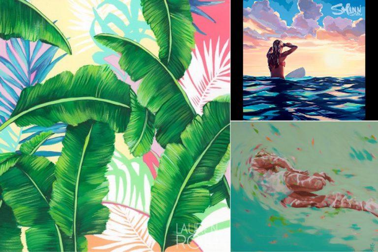 「マグノリア」でゆっくりハワイなアート探し