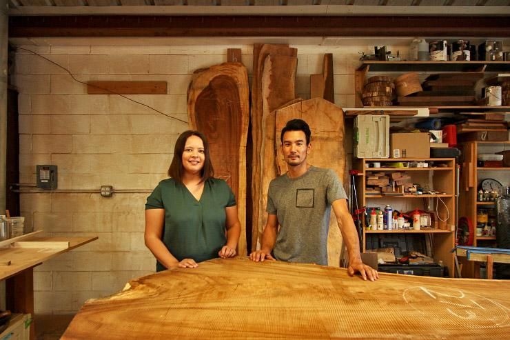 日本人の職人がカカアコで作る、オーダーメイド家具
