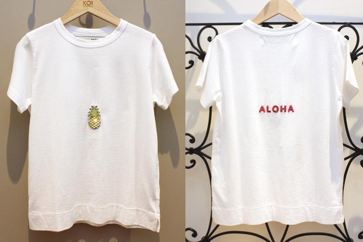 コイ・ホノルルの限定Tシャツ