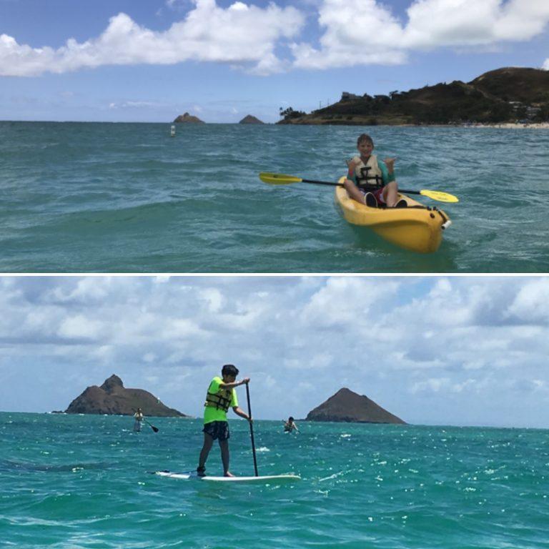 カイルアに来たら海のアクティビティに挑戦