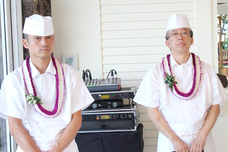 ホテルオークラ東京内にある日本料理店「山里」のシェフ