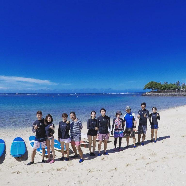 ハワイといったらやはりサーフィン!!