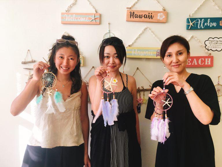 女子旅♥️手作りドリームキャッチャー