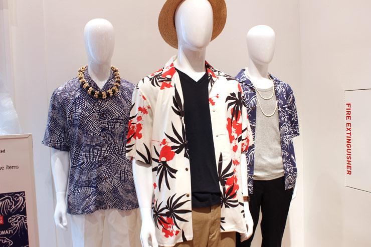 ユンニ黒、ハワイ限定アロハシャツ